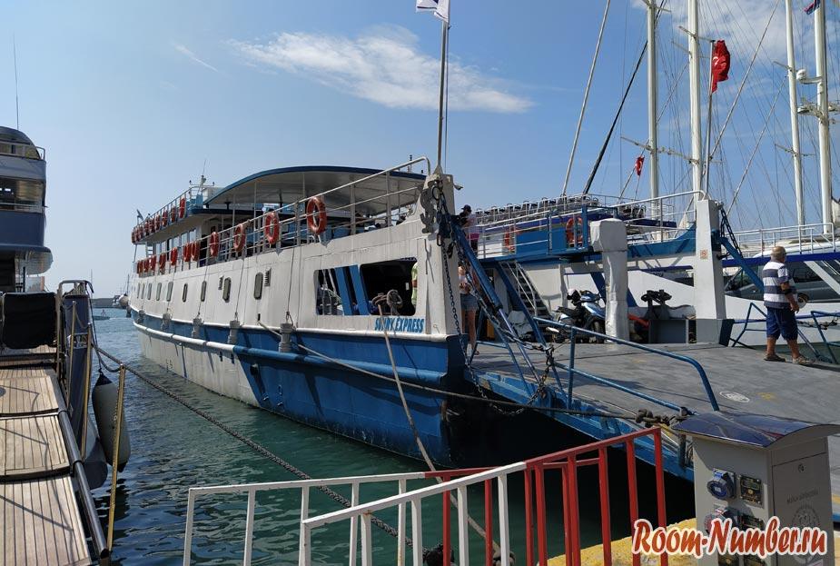 Паром Бодрум — Датча: 2 часа по морю и мы на другом курорте