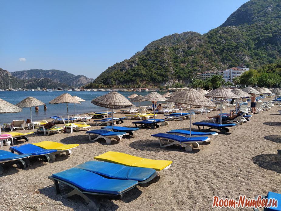Ичмелер, Турция, Мармарис. Самый красивый пляж