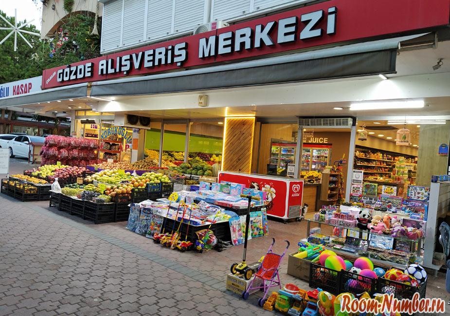 Нашли магазин с русскими продуктами в Аланье